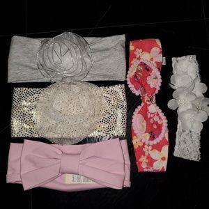 Baby headbands- All never used